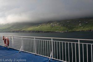 Wir passieren die Färöer